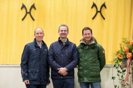 Again the Proven Team of Auctioneers at the Verden Auctions