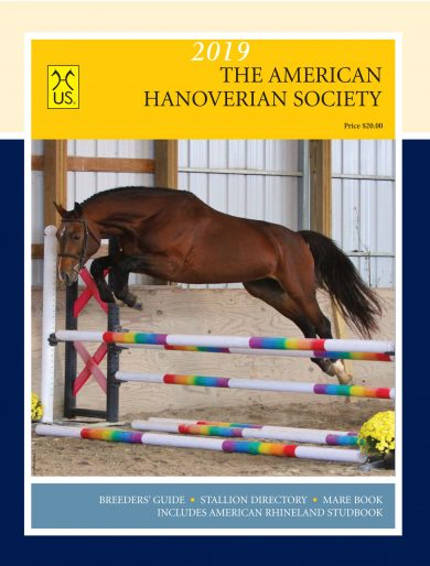 The Annual AHS Breeders' Guide, Stallion Directory and Mare Book